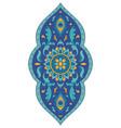 blue medallion for design