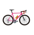 road bike vector image