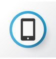 smartphone icon symbol premium quality isolated vector image