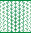 simple cartoon fir tree on white background vector image