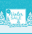 big winter sale poster 2 vector image
