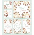 Collection Easter Cards vector image