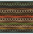 Colorful ethnic seamless pattern vector image vector image