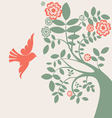 Dove and tree vector | Price: 1 Credit (USD $1)