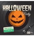halloween party vinyl vector image