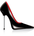 high heel shoe vector image vector image