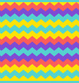modern chevron zigzag pattern background vector image