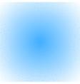 Tech blue art background vector image