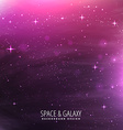 universe stars template vector image vector image