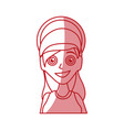 virgin mary mother of god cartoon vector image vector image