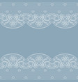 white lace borders vector image vector image
