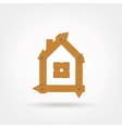 Wooden Boards House Symbol