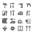Home Repair and Tools Icons vector image vector image