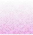 pink heart pattern background - valentines day vector image vector image