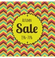 Sale retro poster Discounts banner template vector image