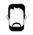 bearded man avatar icon image