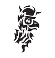 bird viking tattoo vector image