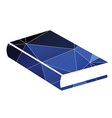 book icon Abstract Triangle vector image vector image