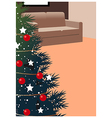 Christmas Home Background vector image