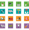Construction Icons set EPS10 vector image vector image