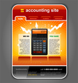 finance accounting vector image vector image