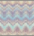 imitation sweater knit melange effect vector image