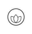 plant power icon vector image
