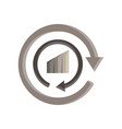 recycle icon logo symbol sign eco isolated reuse vector image