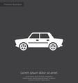 car premium icon vector image vector image