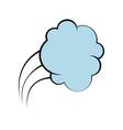 comic bubble icon vector image vector image