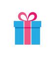 gift box icon - flat vector image