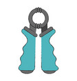 hand grip accesory vector image vector image