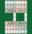 poker set vector image