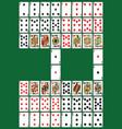 poker set vector image