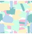 Seamless brush strokes pattern vector image vector image