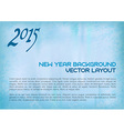2015 old background blue vector image vector image