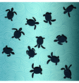 Baby Sea Turtles vector image vector image