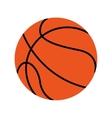 basketball balloon ball icon vector image vector image