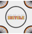 Bike design vector image vector image