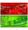 christmas tree ornament vector image vector image