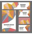 corporate identity branding template vector image vector image
