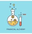 Financial Alchemy vector image vector image