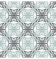 geometric circles pattern vector image vector image