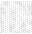 Geometric grunge seamless pattern vector image