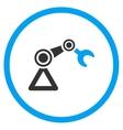 Manipulator Flat Icon vector image
