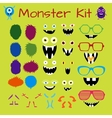 Monster and Character Creation Kit vector image