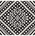 seamless ethnic and tribal pattern hand drawn vector image