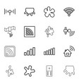16 spot icons vector image vector image