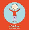 children design vector image vector image