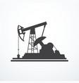 oil pump icon vector image